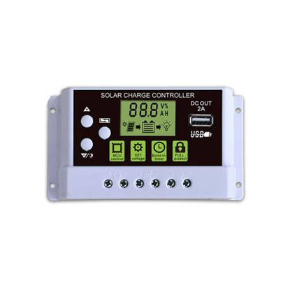 30 Amp 12/24V PWM Solar Charge Controller