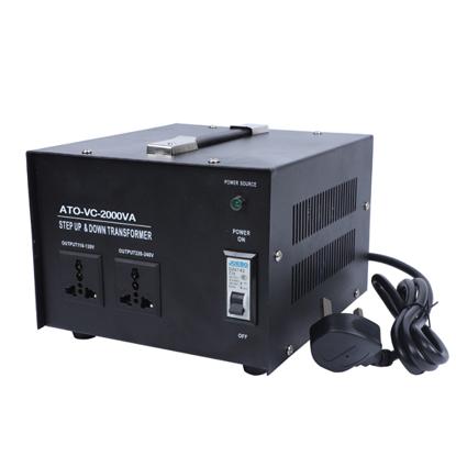 2000 Watt Voltage Converter, 110/120v to 220/240v