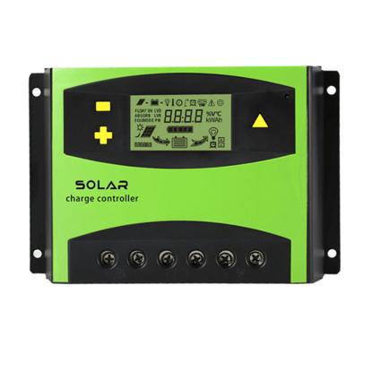 50A 12V/24V/48V PWM Solar Charge Controller