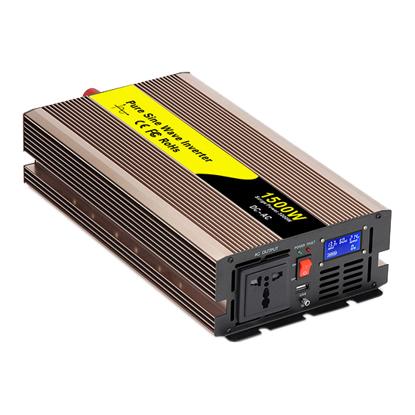 12V 1500 Watt Pure Sine Wave Inverter