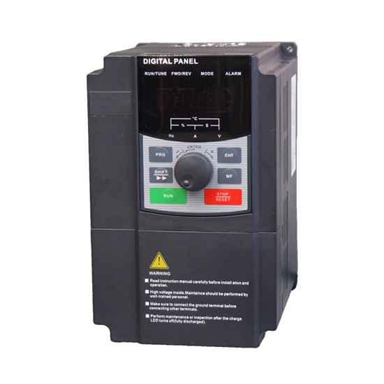 1.5 kW Solar Pump Inverter, DC/AC Input to 3ph AC Output
