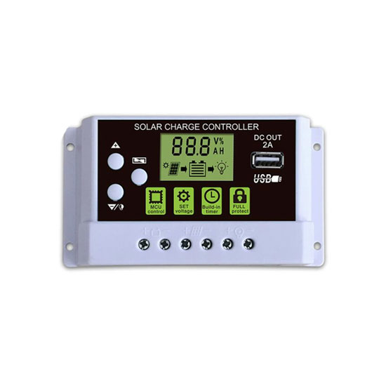 10 Amp 12/24V PWM Solar Charge Controller