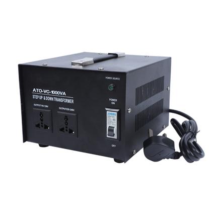 1000 Watt Voltage Converter, 220/240v to 110/120v