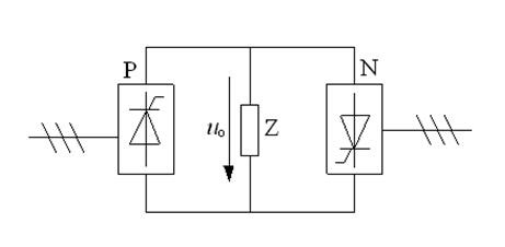 Circuit of variable ac frequency