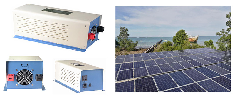 Off-grid inverter for pv solar system