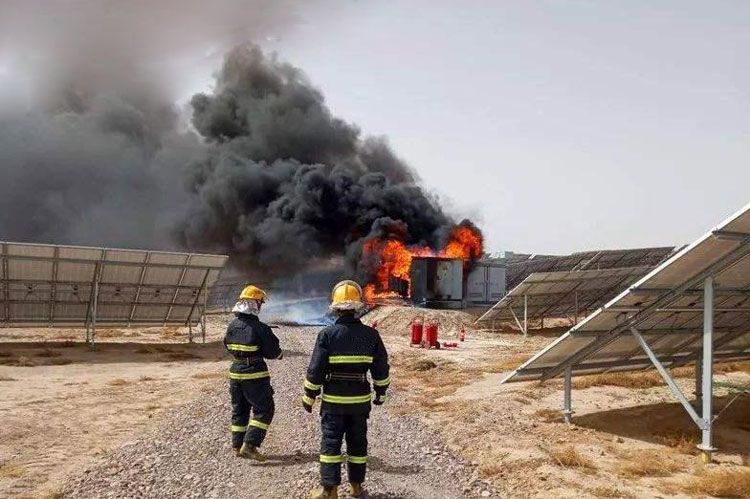 Photovoltaic system fire safety