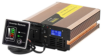 Select a 2000W power inverter for home use