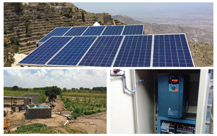 solar pump inverter and solar water pump system