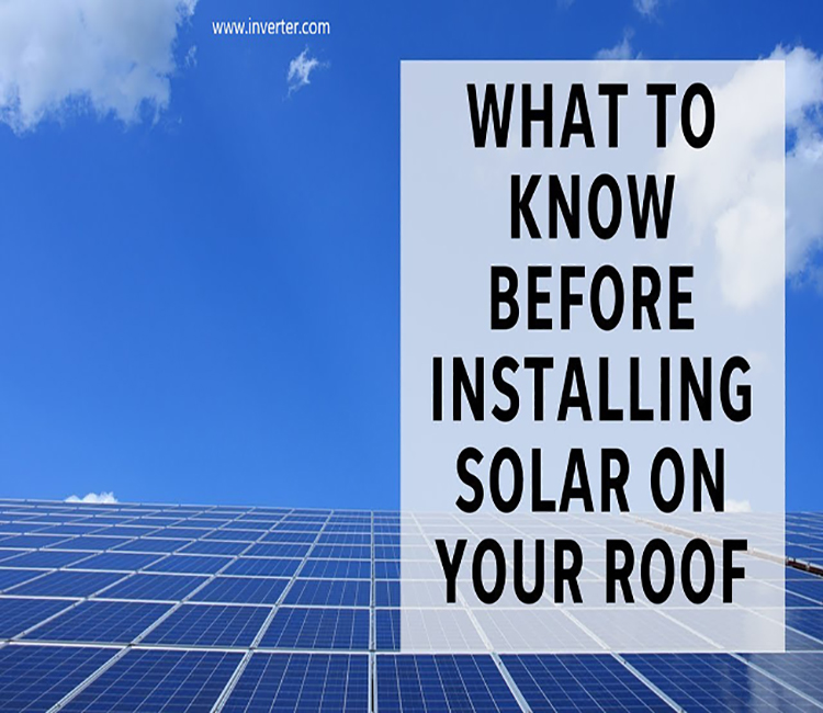 Tips should know before installing solar system
